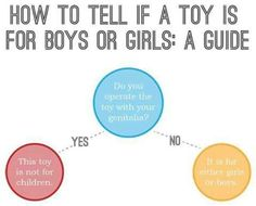 Gender, toys