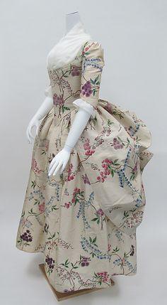 Robe à la Polonaise Date: ca. 1780 Culture: French Medium: silk