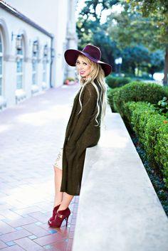 Chelsea & Violet Olive Sweater
