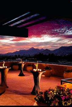 Brides.com: . Sanctuary on Camelback Mountain in Scottsdale, Arizona. The resort's lush gardens will make you forget you're in the Arizona desert. Gawk at the mountain views while you sample fare from celebrity chef Beau MacMillian; Sanctuary on Camelback Mountain.
