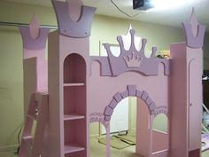 Castle bed...This one's cute too