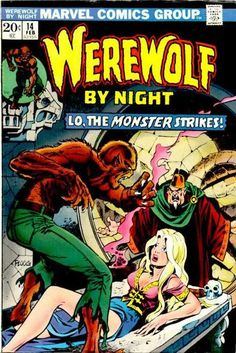 Diversions of the Groovy Kind: Grooviest Covers of All Time: Mike Ploog's Werewolf by Night