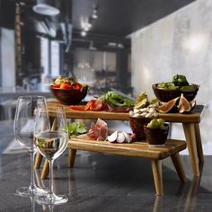 The Norton Group: Catering Suppliers Providing Competitively Priced Catering Equipment And Catering Supplies To The Hospitality Industry. Tapas Dishes, Party Food Platters, Wooden Food, Unique Recipes, Teller, Creative Food, Food Presentation, High Tea, Food Plating
