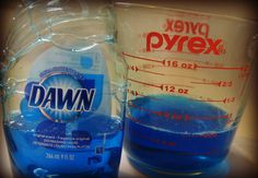 DIY laundry stain remover (better than Shout!)