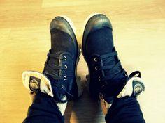 Got my new Palladium Shoes on !!!!!