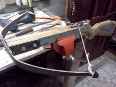 primeira parte da construção de meu crossbow