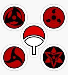 Naruto stickers featuring millions of original designs created by independent artists. Naruto Sharingan, Naruto Shippuden, Boruto, Anime Stickers, Kawaii Stickers, Cute Stickers, Fnaf Anime, Anime Naruto, Naruto Tattoo