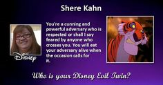 Who is your Disney Evil Twin?