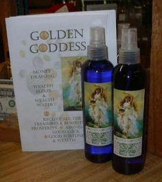 Golden Goddess Wealth Water