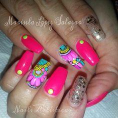 B Malu, Nail Stamping, Gorgeous Nails, Coffin Nails, Nail Care, Beauty, Nail Art, Fingernail Designs, Mandalas