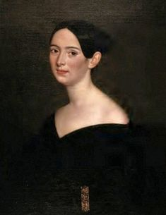 19C American Women: Louisiana paintings by French-born Jacques Guillaume Lucien Amans 1801–1888