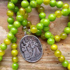 Priestesses of Avalon, priestess prayer beads, priestess mala, avalon prayerbeads, avalon mala, glastonbury mala, glastonbury prayers, by MagickAlive on Etsy