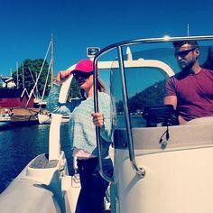 Ay ay Captain #OsloFjorden #speedboat