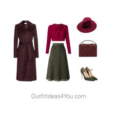 How To Wear Dark Olive For A Pure Winter (Clear Winter)