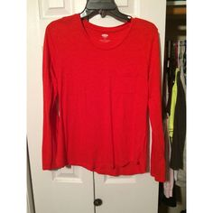 Old Navy long sleeved tshirt Another shirt that's great with scarves Old Navy Tops Blouses