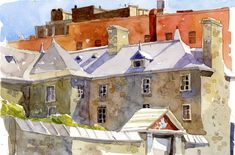 'Brick & Stone' (old montreal) by Shari Blaukopf