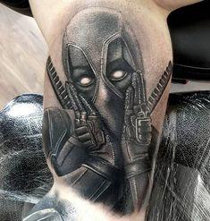 70+ Dashing Deadpool Tattoo Designs - Deadpool mit Tinte neu definieren  #dashing #deadpool #designs #tattoo #tinte