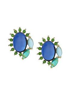 Turquoise Stud Earring | Banana Republic