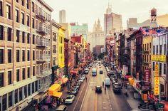 New York City - Chinatown.
