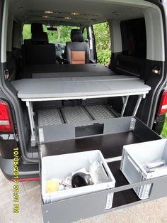 Heckauszug zur Verwendung in Kombination mit dem Multiflexboard - 220 kg belastbar - 900 x 100 cm...,VW T5 Multivan Heckauszug Schwerlastauszug 220 kg in Nordrhein-Westfalen - Kirchlengern