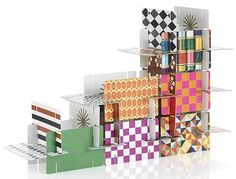 """Images used on the deck of Eames cards, which interlock and stack to build a stable """"house of cards"""", posted 9.29.2010.   www.theobsessiveimagist.com"""