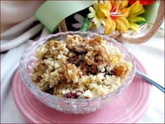 Seffa (Sweet Couscous With Almond Milk) recipe from Africa