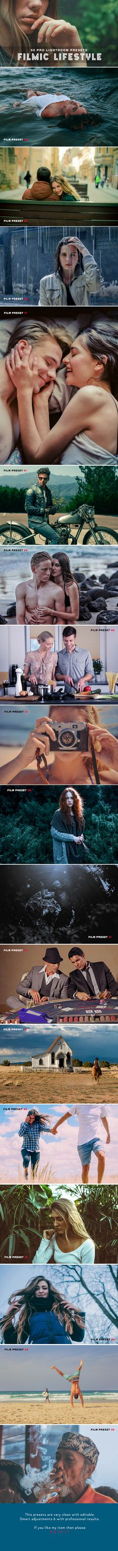 Buy 50 Filmic Lifestyle Lightroom Presets by h_s on GraphicRiver. 50 Filmic Lifestyle Lightroom Presets is the pack of professional Lightroom Presets perfect for new and old photograp. Photoshop Images, Photoshop Actions, Photoshop Presets, Adobe Photoshop, Professional Lightroom Presets, Lightroom 4, Photo Hacks, Photo Tips, Bokeh