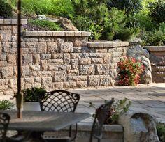 Quarry Stone retaining wall