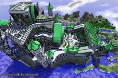 minecraft unbelievable shaders castle   Almor Castle Minecraft Project