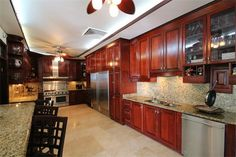 Impressive Kitchens » Marvelous Spanish Estate in Torrimar M12 Calle Patio Hls Guaynabo, Puerto Rico #puertorico #prsir