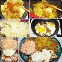 W Mojej Kuchni Lubię - In My Kitchen I like: na obiad: ziemniaki, jajka sadzone,czarna rzepa... Fries, Potatoes, Eggs, Breakfast, Food, Fried Eggs, Morning Coffee, Potato, Essen