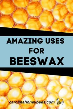 Fun and unusual uses for beeswax. What can you do around the house with a little beeswax? Beeswax uses in and around the home. #carolinahoneybees