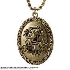 Collier Game of Thrones Pendentif Cersei Lannister