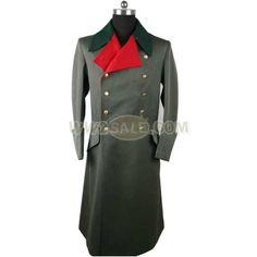 WW2 German M36 Officer Greatcoat Replica
