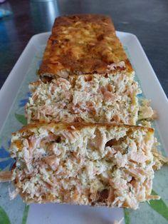 Pain au deux saumons et à l'aneth