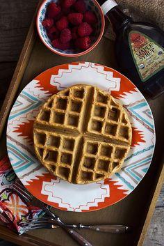 Cassava Flour waffles from Tasty Yummies | gf, ef