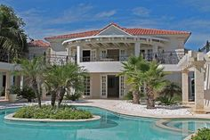 Check out this awesome listing on Airbnb: Villa Blanca 6 Bedroom Golf Villa - Villas for Rent in Cap Cana