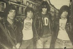 Ramones NYC 2nd Avenue 1979