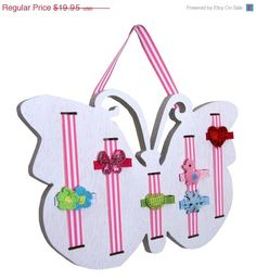ON SALE Hair Bow Holder  Hair Clip Holder  by EverydayClippies, $17.36