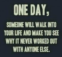 One day, someone...