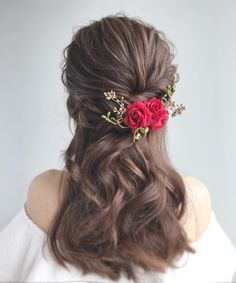 Prom Hairstyles, Wedding Makeup, Like4like, Weddings, Bride, Hair Styles, Fashion, Wedding Bride, Moda