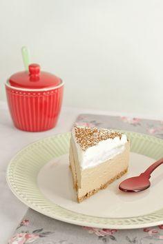 Cappuccino Cheesecake. Receta sin horno