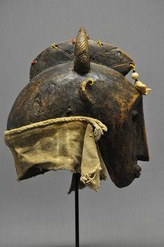 Bamana Mask. Mali. triballinks.net