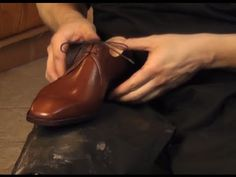 Basic Shoemaking Method - The Cemented Construction ✄ http://www.youtube.com/watch?v=Kof-qlFfw6k