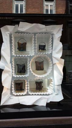 Brown thomas dublin window display bags chocolate box