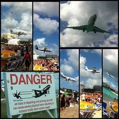 Maho Beach, St. Maarten : Another item checked off the bucket list :)