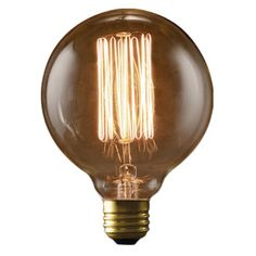 How stylish is this!! / Edison-Light-Bulb