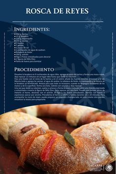 Mexican Pastries, Mexican Sweet Breads, Mexican Bread, Mexican Dishes, Mexican Cooking, Mexican Food Recipes, Sweet Recipes, Dessert Recipes, Spanish Recipes