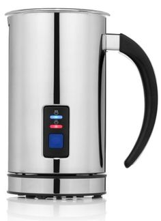 #wow  Chef's #Star The Chef's Star #Premier Electric Milk Frother, made of premium quality stainless steel, allows you to quickly and effortlessly create luscious...