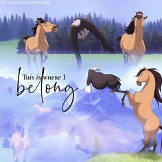 Spirit The Horse, Dreamworks, Childhood, Characters, Horses, Game, Movie Posters, Infancy, Figurines